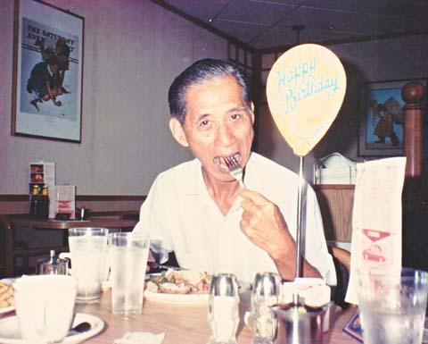 70th birthday, 1991
