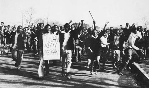 Soweto uprising, 1976