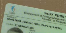Currently, work permits are tied to employer and sector