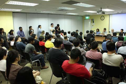 Forum on migrant workers organised by Maruah, 23 Dec 2013