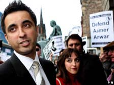Aamer Anwar (at left)