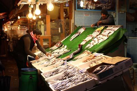 Fish market, Üsküdar