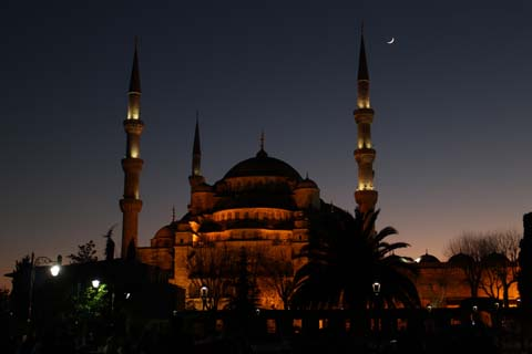 Sultanahmet Mosque, also called Blue Mosque