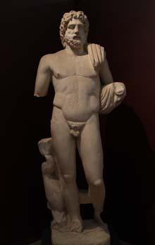 Poseidon from early Roman period, around 1st century BC