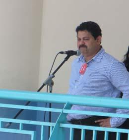Independent candidate Samir Salim Neji