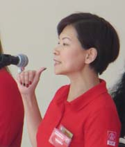 Jaslyn Go is the SDP candidate for Yuhua