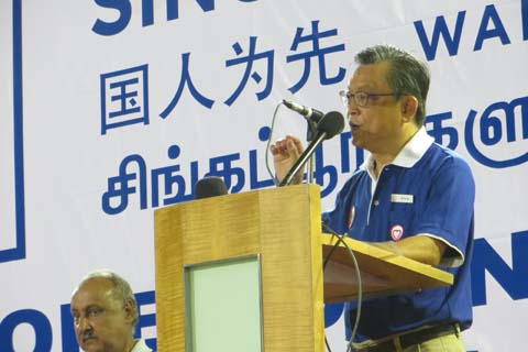 Tan Jee Say is a candidate for Singaporeans First Party in Tanjong Pagar