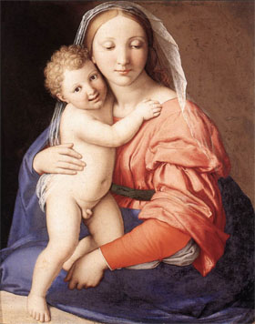 Another Madonna, this one by Giovanni Battista Salvi da Sassoferrato