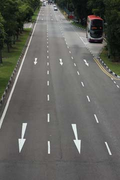 Instead of being heat sinks, why not have road surfaces absorb solar radiation and convert to electricity?